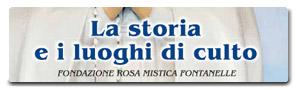 Depliant sulla Storia di Maria Rosa Mistica Fontanelle